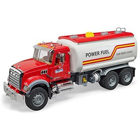 BRUDER 1/16 Mack Granite Tank Truck w/ Water Pump (BR-02827)