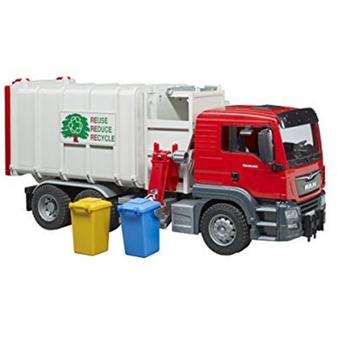 BRUDER 1/16 MAN TGS Side Loading Garbage Truck (BR03761)