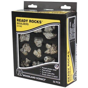 WOODLAND SCENICS Boulders Ready Rocks