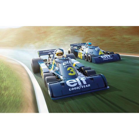 SCALEXTRIC 1:32 Tyrrell P34 - Swedish GP 1976 Twin Pack