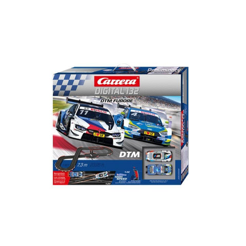 Image of CARRERA Digital 132 DTM Furore Wireless Slot Car Set (30008