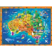 CROCODILE CREEK 100pc Discover Australia Puzzle (CC29206)