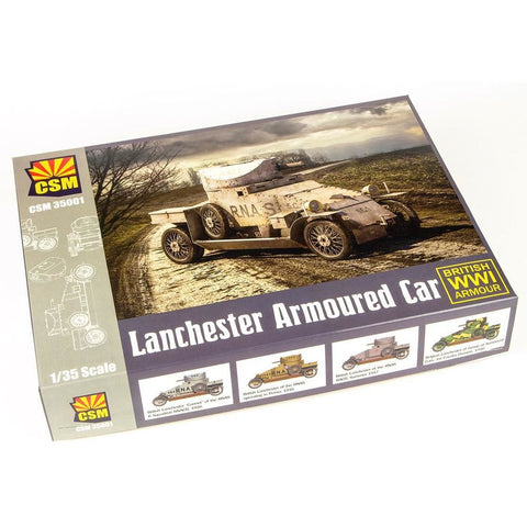 COPPER STATE MODELS 1/35 Lanchester Armoured Car Plastic Mo
