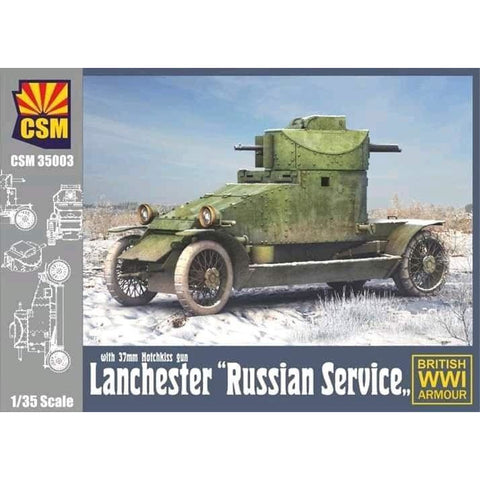 COPPER STATE MODELS 1/35 Russian Service Lanchester (CSM-35