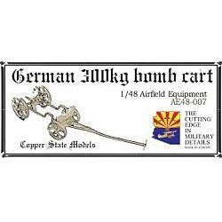 COPPER STATE MODELS 1/48 German 300kg bomb cart (CSM-AE48-007)