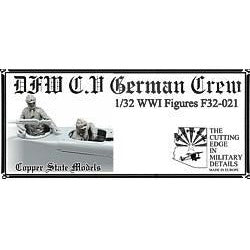 COPPER STATE MODELS 1/32 DFW C.V german crew (CSM-F32-021)