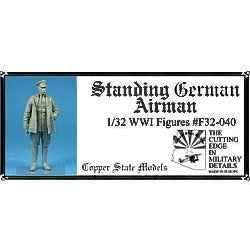 COPPER STATE MODELS 1/32 German airman (2 versions) (CSM-F3