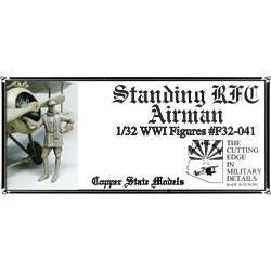 COPPER STATE MODELS 1/32 Standing RFC Airman (CSM-F32-041)