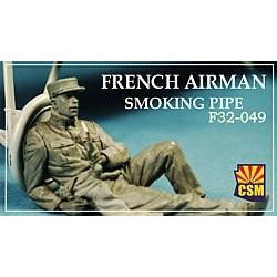 COPPER STATE MODELS 1/32 French airman smoking pipe (CSM-F3