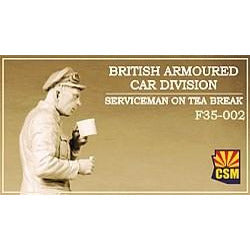 COPPER STATE MODELS 1/35 British Armoured Car Division Serv