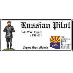 COPPER STATE MODELS 1/48 Russian WWI Pilot (CSM-F48-001)