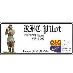 COPPER STATE MODELS 1/48 RFC Pilot (CSM-F48-002)