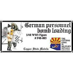 COPPER STATE MODELS 1/48 German aerodrome personnel bomb loading (CSM-F48-005)