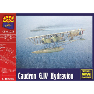COPPER STATE MODELS 1/48 Caudron G. IV Hydravion (CSM-K1028
