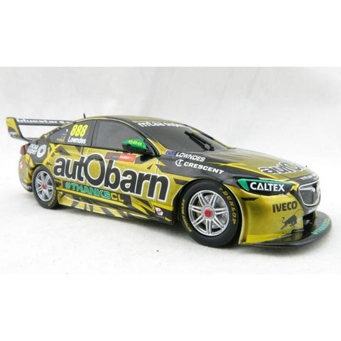 CLASSIC CARLECTABLES 1/43 Lowndes Final Race ZB Commodore