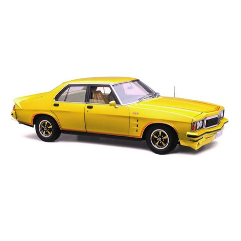 Image of Classic Carlectables 1/18 Holden HZ GTS Jasmine Yellow