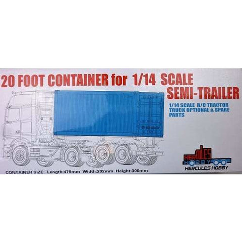 HERCULES 1/14 Scale 20 Foot Container