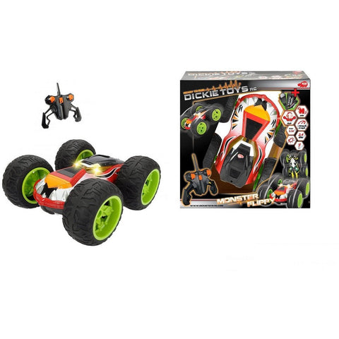 DICKIE TOYS 1:14 (2.4 GHz) Monster Flippy Radio Control Batt