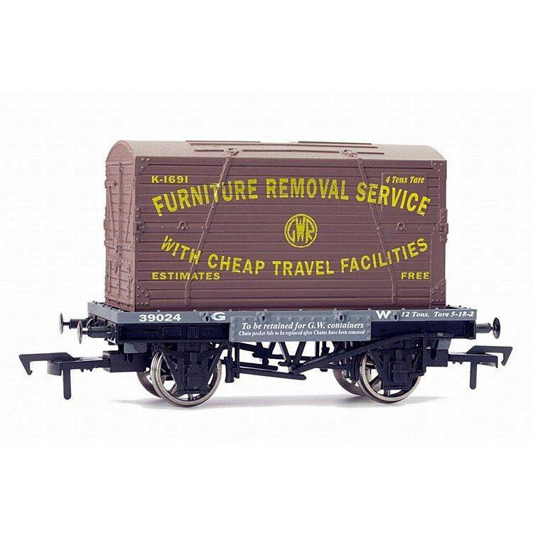 DAPOL CONFLAT & CONTAINER GWR K1691 - Hearns Hobbies Melbourne - DAPOL
