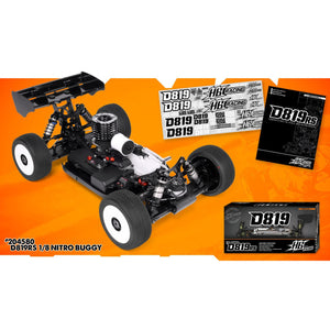 HB RACING D819 RS 1/8 Competition Buggy No body (HB204672)