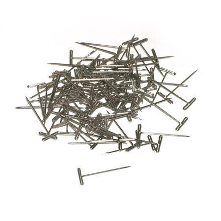 DUBRO 252 Nickel Plater T-Pins 1in (100 Pcs per Pack)