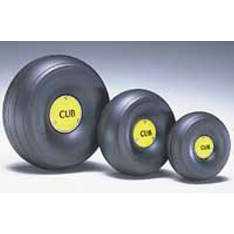 Image of DUBRO 1/4 SCALE TRED LGHT J3 WHEELS (1 PAIR PE