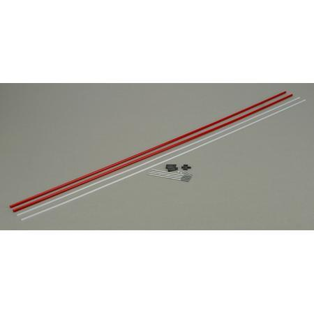 DUBRO 500 36in LAZER ROD (2 PCS PER PACK)