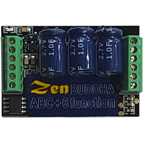 "DCC CONCEPTS Zen Black ""Buddha"" Decoder: O and Large Scale Up to 5amps 6 Functions Stay Alive"