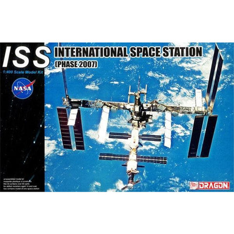 DRAGON 1/400 International Space Station (Phase 2007) Plastic Model Kit