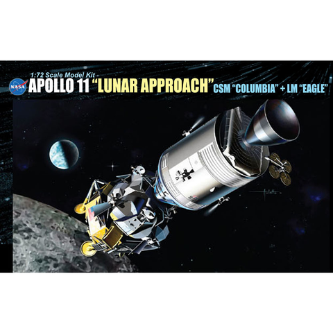 "DRAGON 1/72 Apollo 11 'Lunar Landing' - CSM ""Columbia"" +"