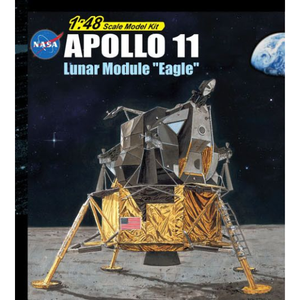 "DRAGON 1/48 Apollo 11 Lunar Module ""Eagle"" Plastic Model Ki"