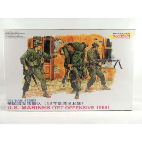 DRAGON DRAGON 3305 1/35 US MARINES (TET OFFENSIVE 1968) (DR
