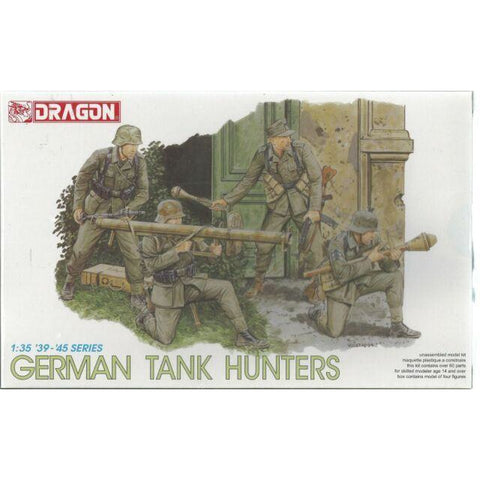 Dragon 6034 1/35 German Tank Hunters Plastic Model Kit