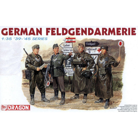 DRAGON 1/35 GERMAN FLEDGEND ARMERIE '39-'45 SERIES (DR 6061
