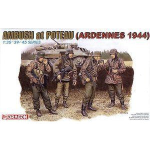 Dragon 6091 1/35 Ambush at Poteau (Ardennes 1944) Plastic M