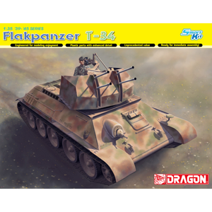 DRAGON 1/35 FLAKPANZER T-34 (R)