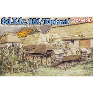 DRAGON 1/35 Sd.Kfz. 184 Elefant (2 in 1) Plastic Model Kit