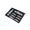 ETHIX Sticker Sheet Black