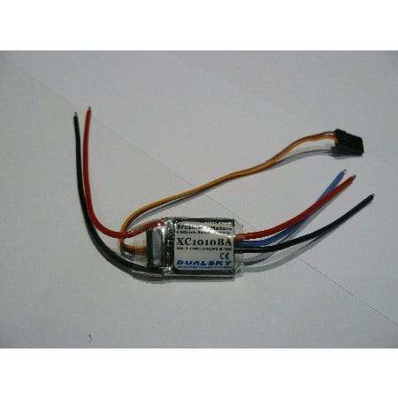 Dualsky 10A, 2-3S brushless ESC