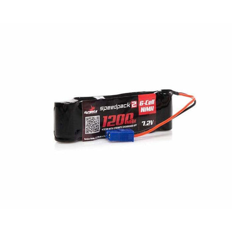 Dynamite 7.2V 1200mAh NiMH battery, long
