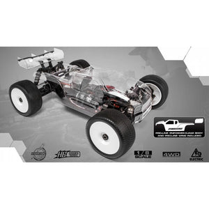 HB E817T 1/8 Competition Electric Truggy