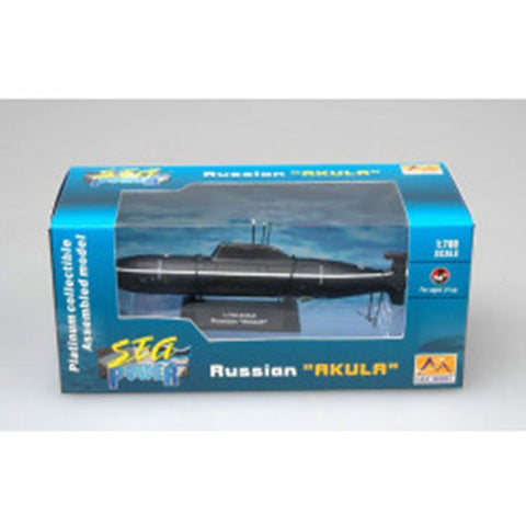 EASY MODEL 1/700 Submarine - Russian Akvla Assembled Model