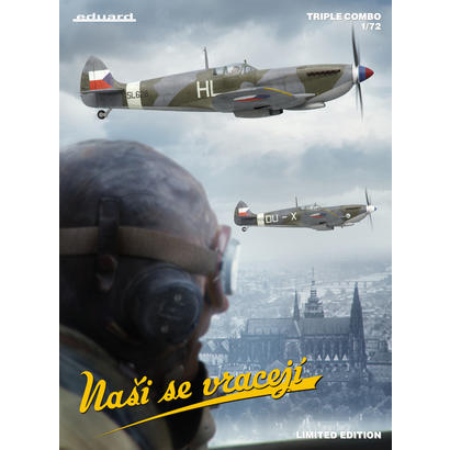 EDUARD 2120 1/72 Nai se vracej Plastic Model Kit