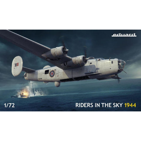 EDUARD 1/72 Riders in the Sky 1944 Plastic Model Kit  (ED02121)