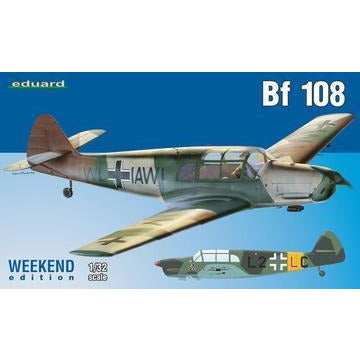 EDUARD 03404 1/32 German WWII Bf 108 Weekend Edition