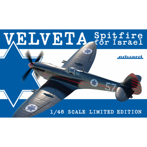 EDUARD 1/48 Velveta / Spitfire for Israel Plastic Model Kit