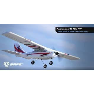 E-Flite Apprentice S 15e RTF Mode 1 - Hearns Hobbies Melbourne - E-FLIGHT - 1
