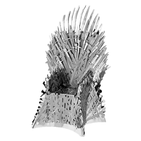 METAL EARTH ICONX - GOT - Iron Throne (FCICX-GOT-IT)