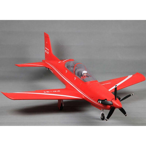 FMS Pilatus PC-21 1100mm Red PNP W/ Reflex