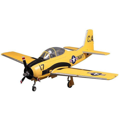 FMS T-28 TROJAN 1400MM Yellow PNP